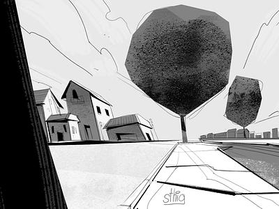 The leaning neighborhood