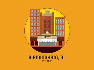 Birmingham, Alabama architecture building theater revive magic city magic icon birmingham alabama