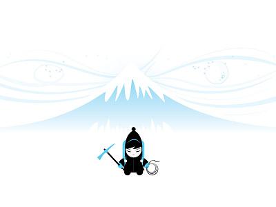 Sherpa mountains freezing cold minimal sherpa winter snow yeti