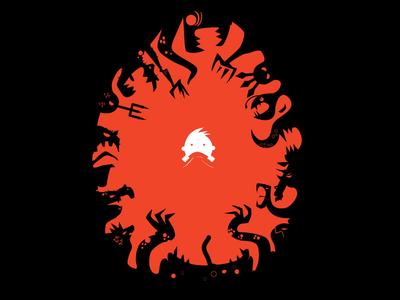 Nightmares villains horror dark black monsters scary nightmare