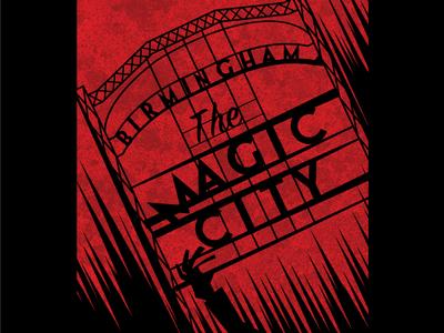 The Tragic City magic city death rick day of the dead dead zombies wpa alabama birmingham