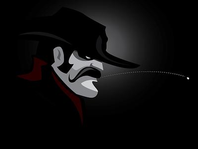 Grit villain bandit cowboy grit texan spitting