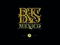 Monogram for BATS brand logo pellizo lettering monogram tattoo tattoo art