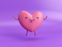 hey little heart 💕