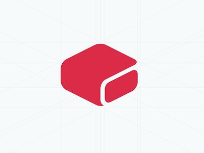 Omniref brand mark brand mark logo identity grid isometric
