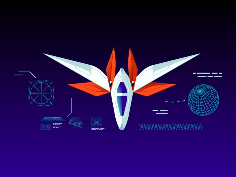 Chris Courses Key Art school development exploration adventure journey outer space boosters schematics sky sun moon course future star space planet satellite astronaut rocket spaceship