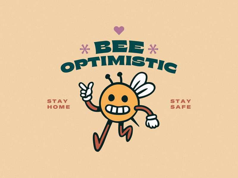 BEE GOOD honeycomb good quarantine indoors coronavirus covid19 social distancing calm alright apart together kindness optimism happy safe home heart honey bee bees