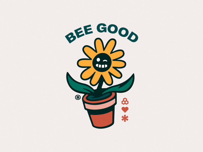 BEE-AUTIFUL joyful pollenate buzz joy insect honey pollen nectar pollination flowers together optimism kindness honeycomb home heart happy good bee bees