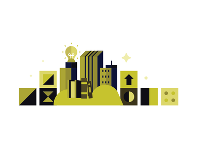 Skills for Life upward work success green jobs books learning ideas city career building blocks