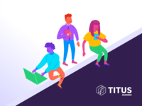 TITUS Business Marketing Visuals