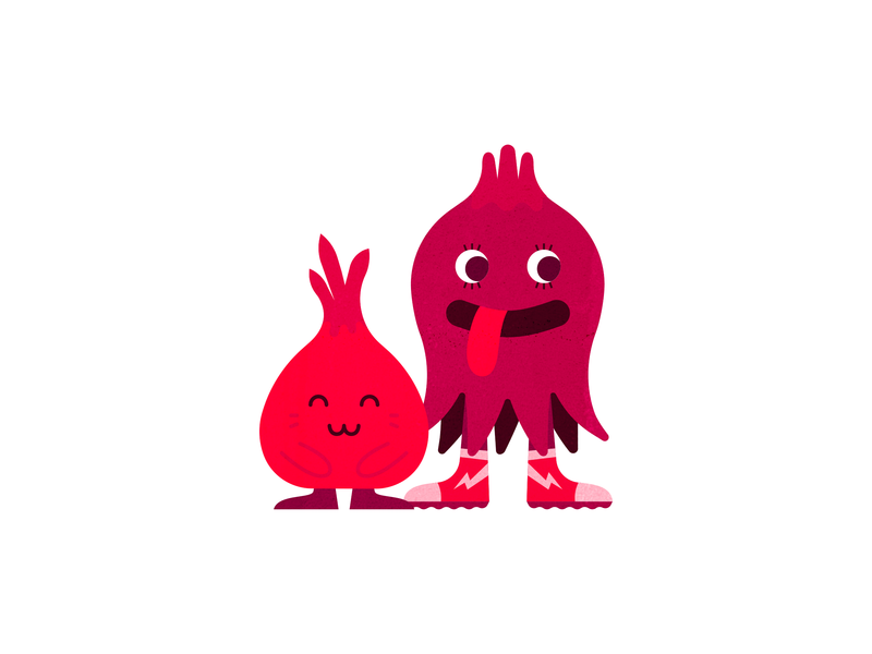 Otis & Lolly — The Wurps mythology mythical fantasy story create branding church vector flat animals cute kids children cartoon monster monsters illustration creatures character design characters