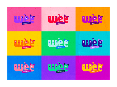Wee World Branding Colorways