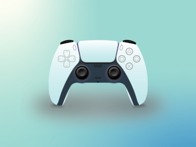 Ps5 Controller ps5 gaming controller adobe photoshop illustration graphics design vector sony playstation