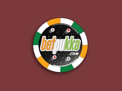 betpukka sticker concept 2020 trend poker chip logodesign 2020 logo sticker photoshop graphicsdesign concept illustrator illustration graphics design vector adobe