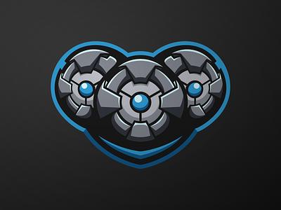 Spy camera mascot esports logo gaming esports branding logo vector character illustration icon art