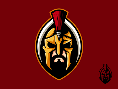 Sparta mascot logo mascot animal art esports logo esports branding icon design character illustration art