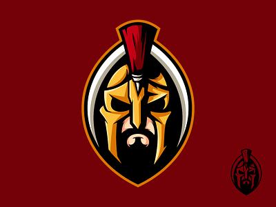 Sparta mascot logo mascot animal art esports logo esports branding icon design character illustration art