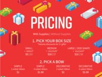 Holiday Wrapping - pricing