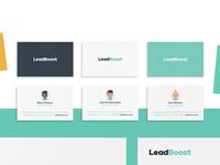 Leadboost / Brand Identity / Full Project On Behance