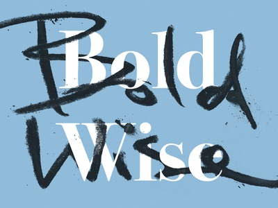 Bold Wise - tester