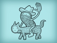 Wrong cowboy