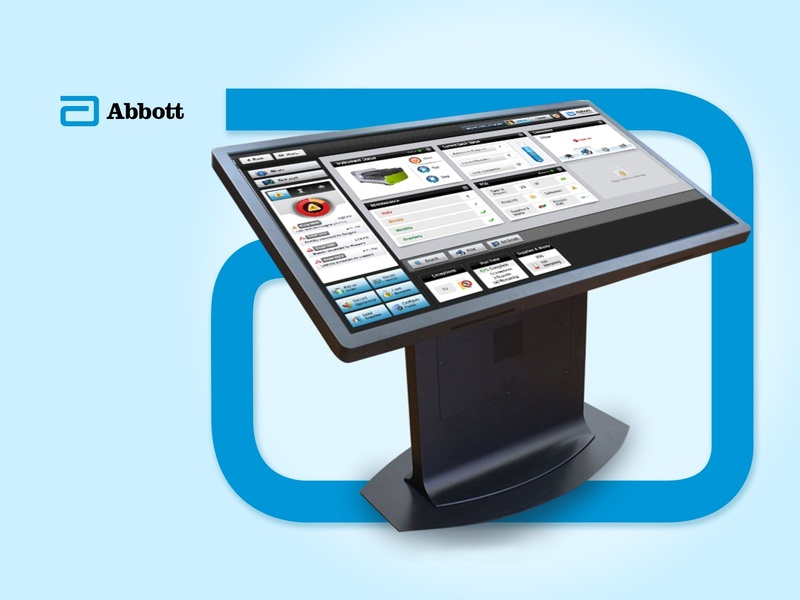 Abbott Kiosk branding design illustration user experience user interface kiosk