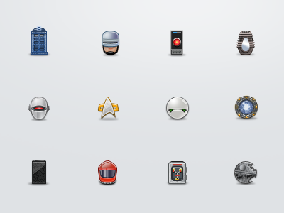 Sci-fi Icons sci-fi icons film