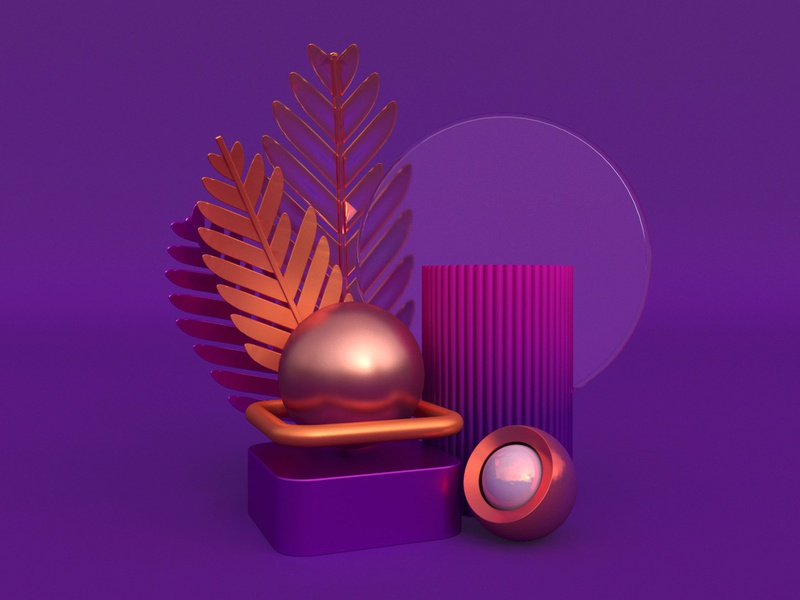 Render for Pearl 3dsmax 3dartist 3dart 3d illustration branding render design visualization