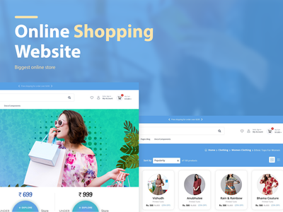 Online Shopping Website Layouts layout design trending design latest design creative layout online store ecommerce website ecommerce design shopping website layout website concept online shopping website online shop