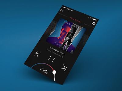 Music Player Application UI music application music app mobile ui application