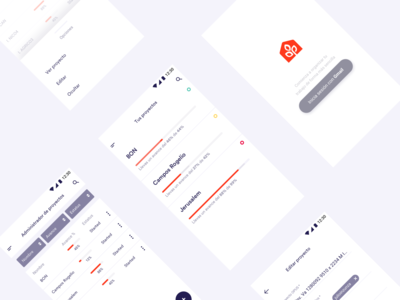Projects Administration App