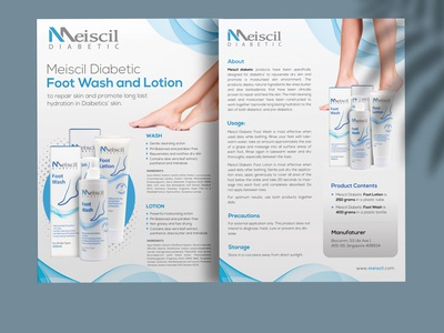 Skin Care Cosmetic Product Double Side Flyer Brochure Design foot wash foot wash product flyer flyer a4 size design print ready leaflet flyer template advertising skin care cosmetic cosmetic product double side flyer design brochure design flyer design cosmetic product flyer cosmetic flyer design body lotion product sales flyer skin care product flyer design cosmetic product flyer design