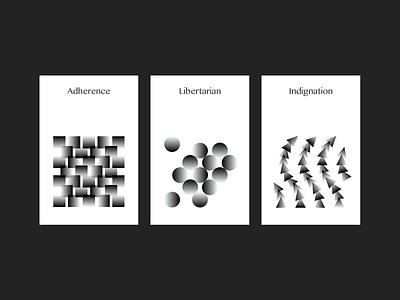 Card 2 graphicdesign gradient blackandwhite black vector design illustration card