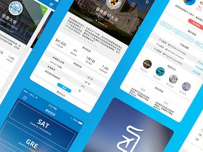 A Shot from My Portfolio portfolio website profile dashboard mobile blue ux ui card