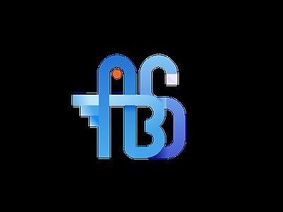 ABCEFSWAN white blue sketch vector shape illustraion letter