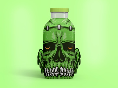 Creative Juice Packaging label. labeldesign trippy designs dribbble graphic design art and illustration illustraion graphics creative design juice brand identity brand design branding label design labels label labeling package design packaging
