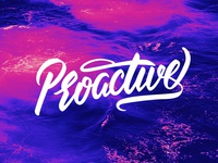 Proactive lettering