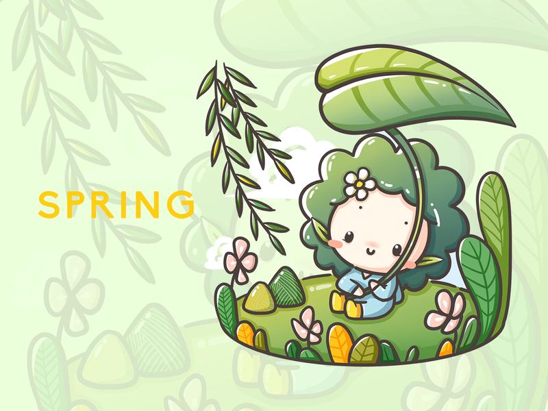 Mascot illustration design illustration