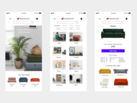 Maynooth app ux ui minimal design