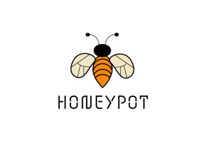 Honeypot. design minimal branding logo