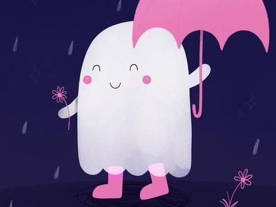 Ghosts Rainy Walk