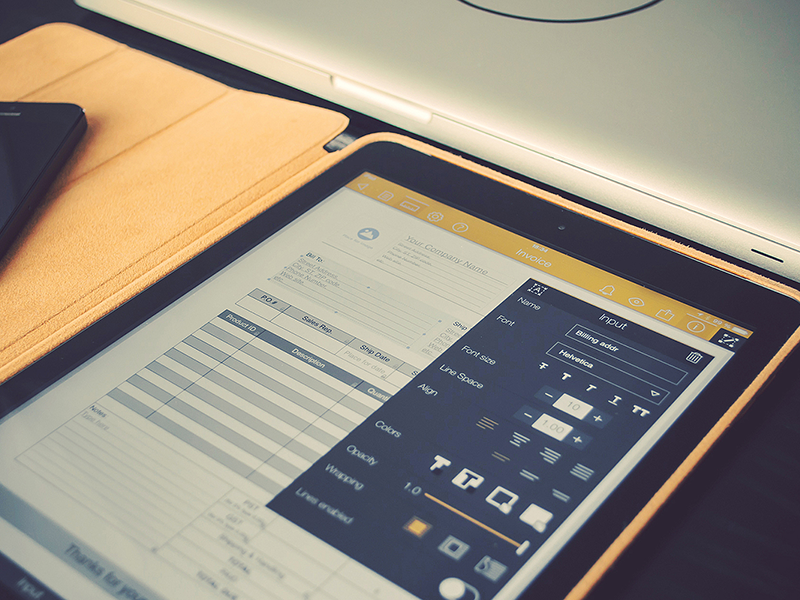 Nexticy for iPad ui design uix forms builder pdf docs ipad interface