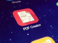 PDF creator app icon