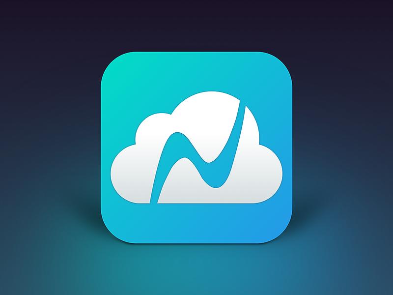 Nexticy app icon icon design ios ipad nexticy cloud