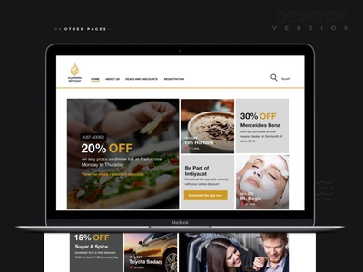 Imtyazat website web development web design ux