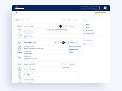 🔎 Web App for Auditors - Projects audit finance tool dashboard design dashboard app dashboard ui dashboard web desktop ux ui app