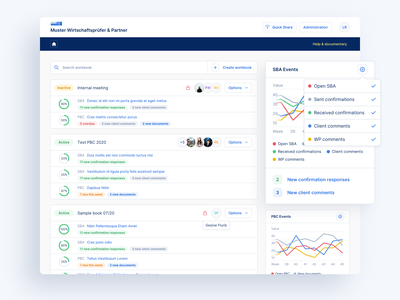 🔎 Web App for Auditors - Projects Dashboard Redesign web tool tool dashboard design dashboard app dashboard ui dashboard ux uiux ui desktop app desktop app information architecture web interface software design web app auditors app audit app audit