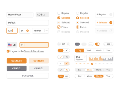 UI Kit Exploration clean minimal inputs buttons interface input button ui design uidesign exploration ui kit ui elements uikit ui