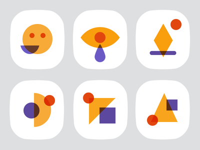 Simple Colors Icons blending icons icon