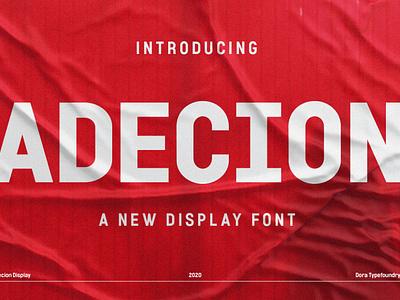 Adecion cursive wedding stylish headline quotes pretty poster design branding modern